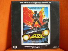VINYL 33T – BOF OST MAD MAX – BRIAN MAY – 1981 ORIGINAL FRENCH PRESSING ON MILAN
