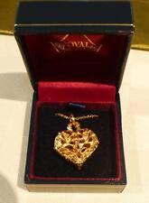 Royal Selangor Gold Heart Pewter Pendant
