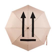 Art Lebedev This Side Up Umbrella Black and White Minimal Symbol Unique Design