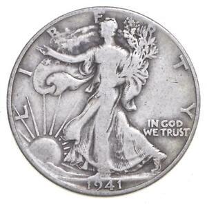 1941-D Walking Liberty 90% Silver US Half Dollar *902
