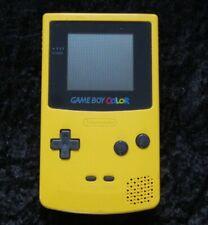 Nintendo Gameboy Color original Spiele Konsole in Gelb