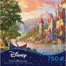 Thomas Kinkade Puzzle Beauty and the Beast Ii Puzzle 750 Piece Ceaco Puzzle