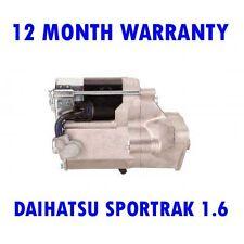 DAIHATSU SPORTRAK 1.6 16V 1988 1989 1990 1991 1992 - 1999 RMFD STARTER MOTOR