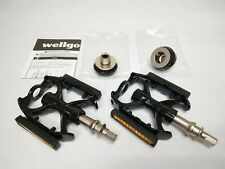 Wellgo Magnesium Lightweight Road.Trekking bike quick release Pedal-Black