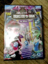 Welcome to Monster High (Origin Story) - DVD - Region 2, 4 & 5 - New & Sealed