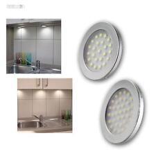 LED Lámpara Empotrada Sets Iluminación Cocina Muebles de la Luz Bombilla Leds