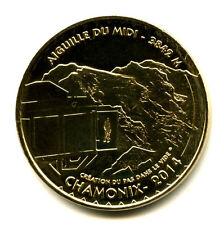 74 CHAMONIX Création du pas dans le vide, 2014, Monnaie de Paris