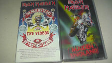 Iron Maiden - Maiden England / the first ten years the videos VHS  fast dispatch