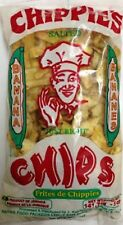 12 chippies banana chips original fresh salted crunchy snack 1 oz