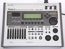 Roland TD-20 electronic Drum Kit Module/CERVEAU + 5 Vex Packs