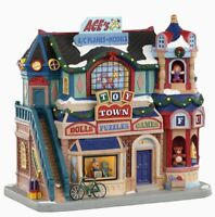 Lemax Caddington Village TOY TOWN #05653 BNIB LIGHTED BUILDING