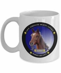 Horse Mug  Horse Gift Gifts For Horse Lovers Horse Coffee Mug Horses Are Love