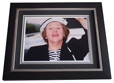 Patricia Routledge SIGNED 10x8 FRAMED Photo Autograph Display TV AFTAL & COA
