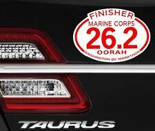 "Magnet 2018 Marine Corps Marathon D.C.Finisher Magnet for Car 4""x6"""