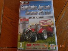 Exploitation Agricole Simulator 14 Platinum Jeu PC comme neuf