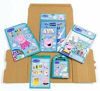Licensed - Peppa Pig Bumper Bundle Pack | Multipack Activity Set for Kids Arts &