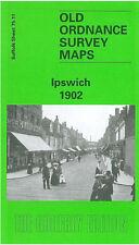 Old Ordnance Survey Map Ipswich 1902