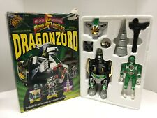 Mighty Morphin Power Rangers VTG 1991 Dragonzord & Green Ranger MIB Bandai MMPR