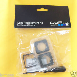 GoPro Standard Gehäuse Objektiv-Ersatz-Kit für HERO 3+ & HERO 3 (ASLRK - 301)