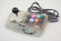 PS COMPACT JOY STICK Fighting Controller Pad Clear Playstation Hori Tested 1463