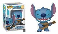 Funko POP Disney Lilo & Stitch Stitch w/Ukelele Pre Order May mint w protector
