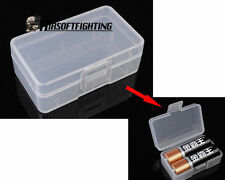 1 Cell 9V Battery Case Box Holder Storage for 1pc 9V battery or 2xAA batteries A