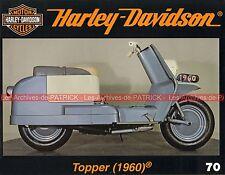 HARLEY DAVIDSON Scooter Topper 165 1960 univers HARLEY Café Las VEGAS MOTO HD