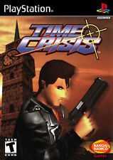 Time Crisis PlayStation 1 Framed Print (Classic Gaming Picture Poster Arcade)