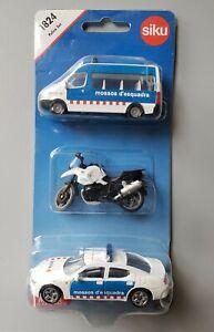 Siku: Police 3-Vehicle 1:55 Diecast Set #1824