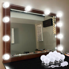 Hollywood Style LED Vanity Mirror Lights Kit with Dimmable Light Bulbs