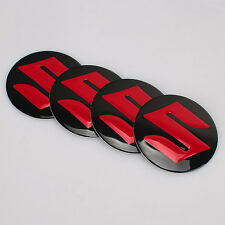 4Pcs 56.5mm Car Sticker Wheel Center Hub Cap Aluminium Suzuki logo emblem