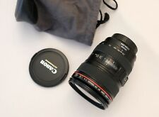 Canon 24-105mm f4 L Series Lens w/ Stabilizer Immaculate - VERY Lightly Used
