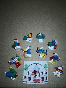 PUFFI NATALE  (Smurfs) serie Completa.. Weihnachtsschlümpfe