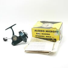 Vintage Alcedo Micron Fishing Reel. Made in Italy. W/ Box and Manual.