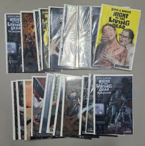 Night of the Living Dead Avatar Issue #1-3 Lot of 21 Variant Covers w/ Leather