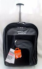 EXACT SIZE CABIN HAND LUGGAGE WHEELED BACKPACK RUCKSACK TROLLY CASE BOARDING BAG