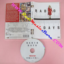 DVD film RADIO DAYS 2014 Woody Allen collection MGM 21468DS no vhs (D8)
