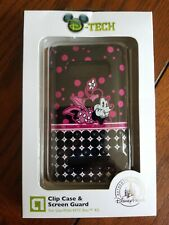 D-Tech MICKEY MINNIE MOUSE Disney Parks Clip Case & Screen Guard HTC Evo 4G