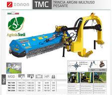 ZANON TMC 1300 TRINCIA ARGINI MULTIUSO PESANTE RULLO A MAZZE TRATTORI DA 60/80HP