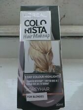 L'OREAL Colorista Grey Hair Colour Highlights for Blondes Washout 30ml Brand New