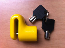 5.5 Mm Disco De Freno Candado Resistente 2 Llaves De Motos Scooter Bicicletas Bicimoto valor!