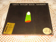 CECIL TAYLOR Solo Garden ORIG HAT HUT TURICAPHON 2LP BOX Hart Art 1993/94 SEALED