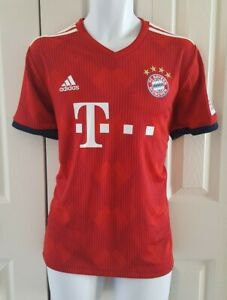 adidas FC Bayern Home Jersey 18/19- Red CF5433