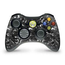 Xbox 360 Controller Skin Aufkleber Schutzfolie Sticker Vinyl Shattered Black
