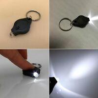 5Pc Portable Mini Keychain LED Light Lamp Key Ring Flash Flashlight Torch New