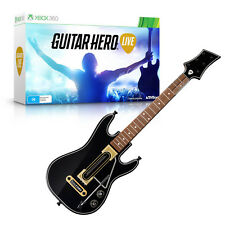 Guitar Hero Live with Guitar Controller Xbox 360.......Brand New Sealed