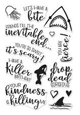 "Brand New Hero Arts ""KILLER MESSAGES"" Photopolymer Poly Clear Stamps"