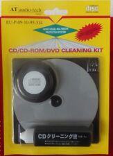 2x CD-Reinigungssystem mit Flüssigkeit CD DVD Blu-Ray CD-Reiniger mit Anleitung-