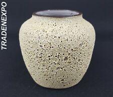 Vintage 1960-70 ZAALBERG KERAMIEK HOLLAND Dutch Studio Art Pottery Fat Lava Vase