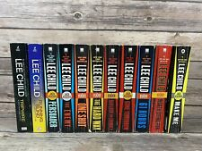 Lee Child Jack Reacher Lot Of 11 Paperback Books
